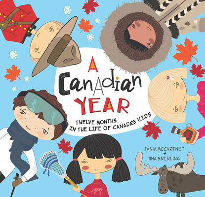 Picture of A Canadian Year: Twelve Months in the Life of Canada's Kids