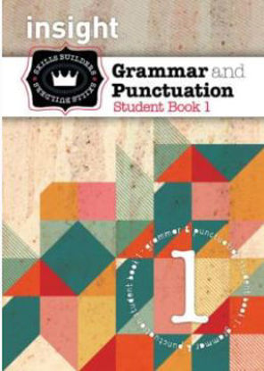 Picture of Insight Skills Builders Grammar & Punctuation Book 1