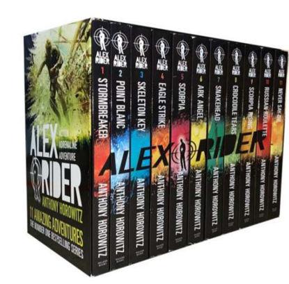 图片 Alex Rider 10 Book Collection
