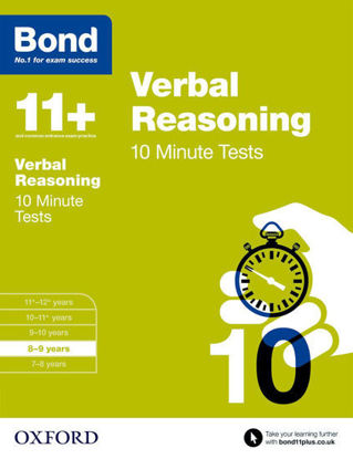图片 Bond 11 Verbal Reasoning 10 Minute Tests: Age 8 to 9