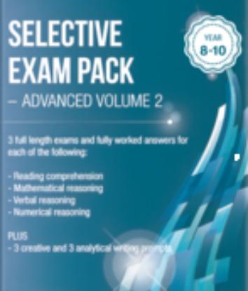 图片 Selective Exam Pack - Advanced Volume 2