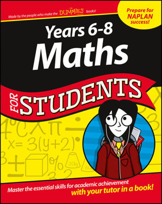 Picture of Years 6 - 8 Maths For Students