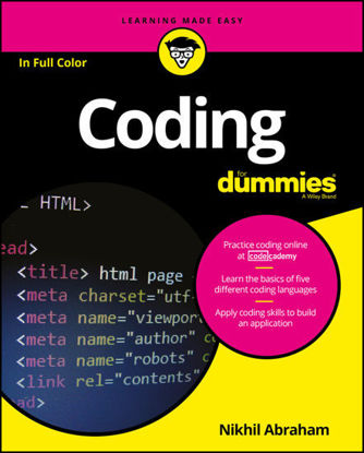 Picture of Coding For Dummies
