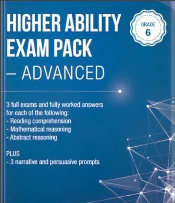 图片 Higher Ability Exam Pack - Advanced