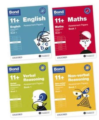 图片 Bond 11+ English Maths Verbal Reasoning Non Verbal Reasoning 9-10 Yrs Bundle