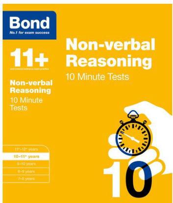 图片 Bond 11 Nonverbal Reasoning 10 Minute Tests 10 to 11